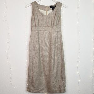 Brooks Brothers | Sleeveless Linen & Silk Dress